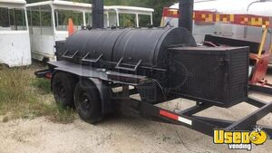 Used Open Barbecue Smoker Tailgating Trailer / BBQ Trailer-Mounted Smoker for Sale in Wisconsin!