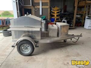 Southern Steamers Grill Open Smoker Trailer / Barbecue Pit in Great Condition for Sale in Wisconsin!