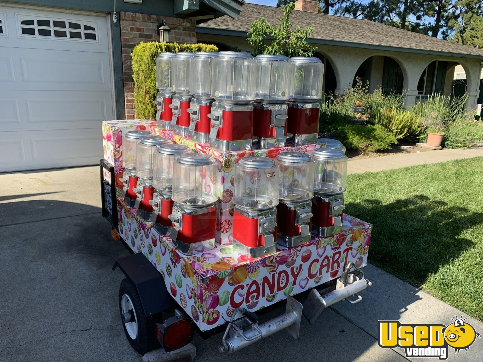 Other Bulk Candy / Gumball Machine 5 California for Sale - 5