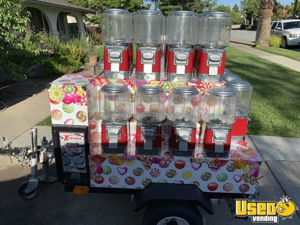 Other Bulk Candy / Gumball Machine 6 California for Sale