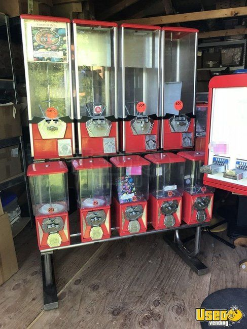 200 Quality Bulk Candy / Bulk Vending Machines for Sale in South Carolina!!!