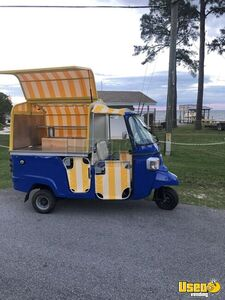 2013 Piaggio Ape Calessino Mini Retail Marketing Truck for Sale in Florida!!!