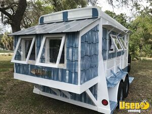 Unique Beach Cottage Style Tiny Home or Mobile Business Trailer for Sale in Florida!