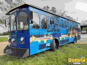 Elegant 2009 Trolley-Style Party and Tour Bus / Used Event Bus for Sale in Louisiana!