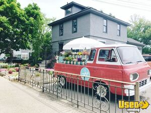 1962 Vintage Ford Econoline Flower Truck / Stunning Mobile Flower Shop for Sale in Michigan!
