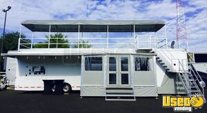 2006 Featherlite Gooseneck 45' High-End Hospitality Trailer with Sky Deck for Sale in North Carolina