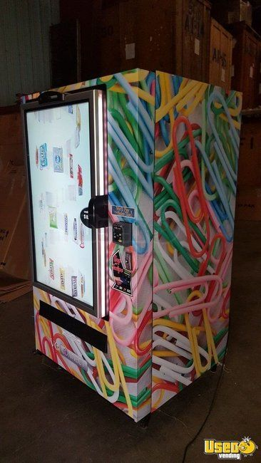 VE Connect Touch Screen Snack Vending Machine for Sale in California!