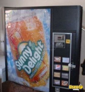 Used Large Capacity Soda Vending Machine for Sale in California!!!