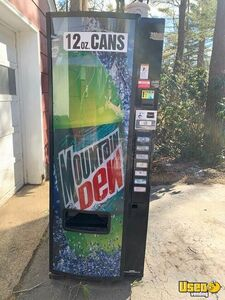 Used Full Size Electrical Mountain Dew Front Soda Vending Machine for Sale in New Hampshire!