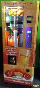 Orangfresh Electronic Fresh Orange Juice Vending Machines for Sale in New York!
