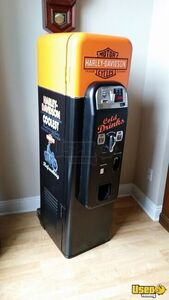 Antique Replica Harley Davidson Drink / Beer Vending Machine by Wurlitzer