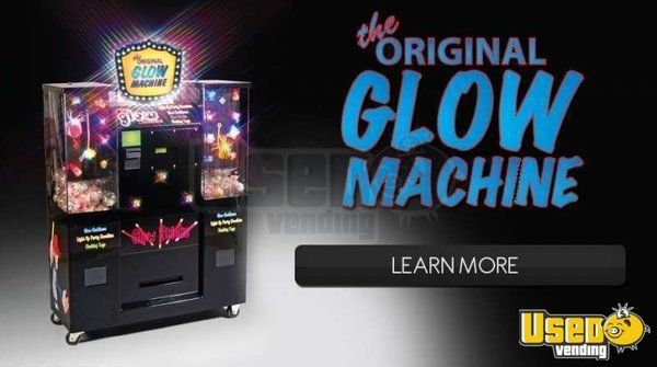 (1) - Original Glow Machine Electronic Novelty Vending Machine!!!