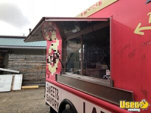 P3500 Step Van Kitchen Food Truck All-purpose Food Truck Exterior Customer Counter Massachusetts for Sale