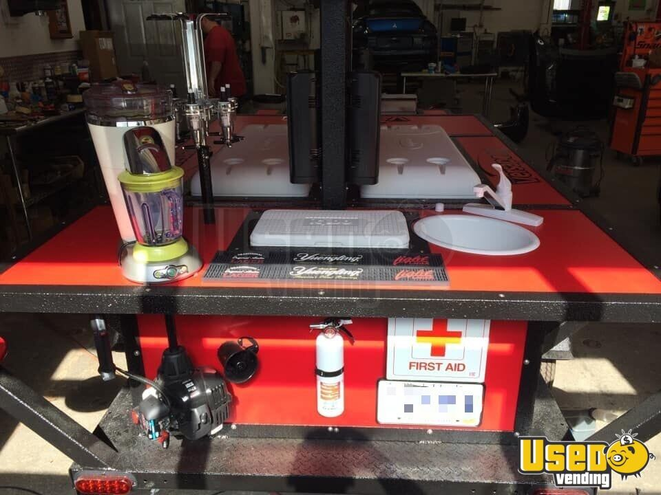 Party / Gaming Trailer Hand-washing Sink Rhode Island Gas Engine for Sale - 4