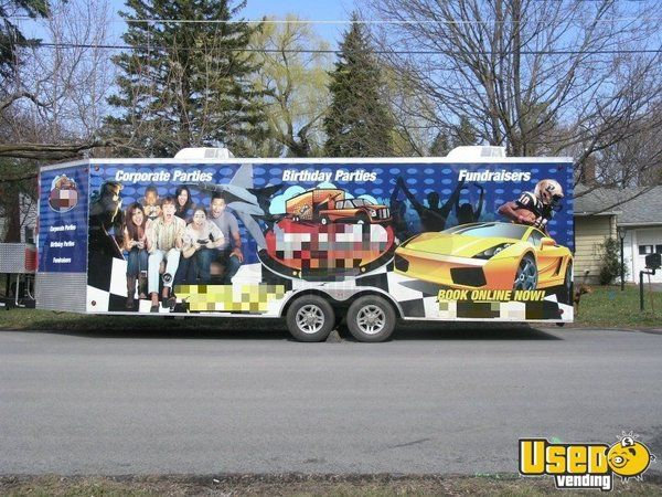 Turnkey 32' Mobile Video Game Business / Used Mobile Entertainment Unit for Sale in New York!