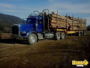 2019 Peterbilt 367 Day Cab Semi Truck w/ Optional Timber Trailer for Sale in British Columbia!