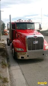 2010 Peterbilt 386 Sleeper Cab Semi Truck Cummins ISX 450 10-Speed for Sale in California!