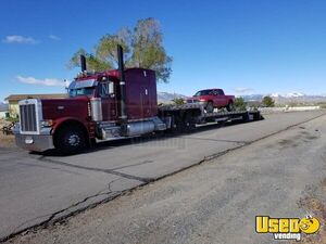 Solid 1998 Peter 379 Stand-Up Sleeper Cab Semi Truck in Exceptional Shape for Sale in California!
