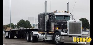 1987 5th Wheel Peterbilt 359 Flat Top Classic Sleeper Truck w/ Cat Engine for Sale in Colorado!