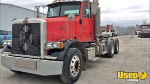2007 Peterbilt 378 Day Cab Semi Truck Cat C13 MT Dual Exhaust for Sale in Kansas!