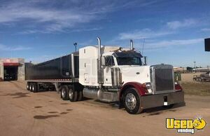 Completely Rebuilt 1996 Peterbilt 379 Midroof Sleeper Truck / Dual Exhaust Semi Truck for Sale in Montana!