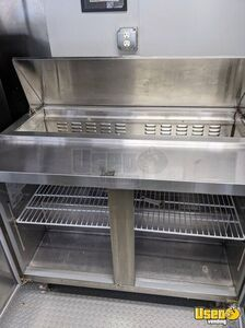 Pizza Concession Trailer Pizza Trailer Exhaust Hood Illinois for Sale