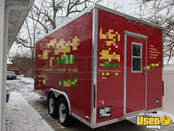Pizza Concession Trailer Pizza Trailer Illinois for Sale