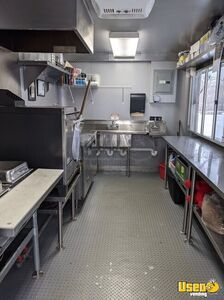 Pizza Concession Trailer Pizza Trailer Upright Freezer Illinois for Sale