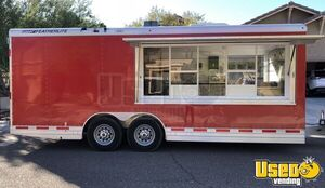 2015 - 8.6' x 20' Featherlite Wood Burning Pizza Trailer for Sale in Arizona!!!