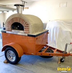 New 2019 6.7' x 9.5' Forno Bravo Wood-Fired Oven on Wheels / Pizza Trailer for Sale in Arizona!