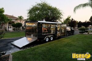 Turnkey 2015 Patriot 8' x 16' Wood-Fired Pizza Concession Trailer w/ Nissan Truck for Sale in California!