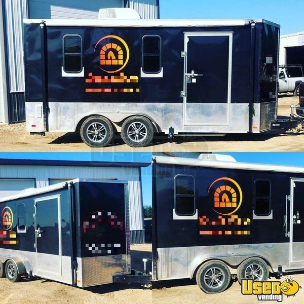 2017 Mobile Space 12' x 17' Wood Fired Pizza Trailer/Mobile Pizza Unit for Sale in Illinois!