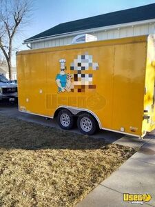 2015 -  8.5' x 16' Pizza Concession Trailer Used Food Trailer for Sale in Iowa!!
