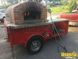 2013 12' Forno Bravo Wood Fire Pizza Oven Trailer for Sale in Massachusetts!