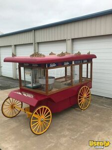 Popcorn Wagon Concession Stand Food Cart Additional 2 Oklahoma for Sale
