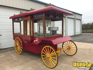 Popcorn Wagon Concession Stand Food Cart Handwash Sink Oklahoma for Sale