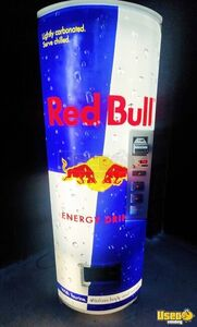 2014 Royal Vendors Merlin RB Red Bull Energy Drink Soda Vending Machine for Sale in Arkansas!