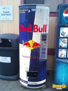(6) - 2006 Electrical Red Bull Energy Beverage Vending Machines!!!