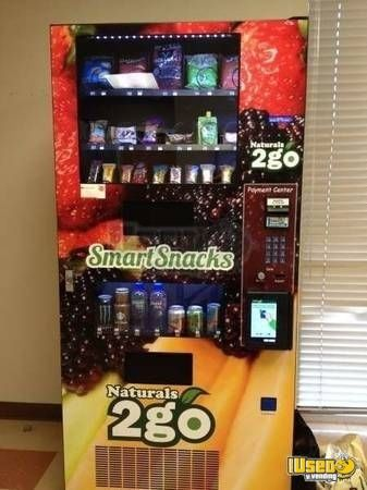 Seaga Healthy Vending Machine Colorado for Sale