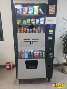 2019 Seaga Futura Combo Snack & Soda Vending Machine w/ Smart Pay for Sale in California!