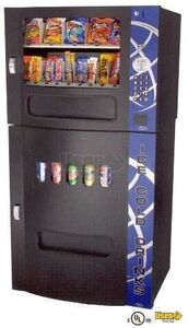 (6) - 2007 Seaga 2500 Electronic Snack & Soda Vending Machines- New in Boxes!!!