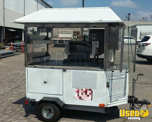 Shaved Ice Concession Cart Food Cart California for Sale