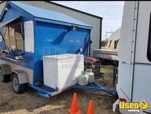 Shaved Ice Concession Trailer Snowball Trailer Air Conditioning Kansas Gas Engine for Sale