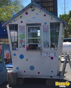 Shaved Ice Concession Trailer Snowball Trailer Air Conditioning Nevada for Sale