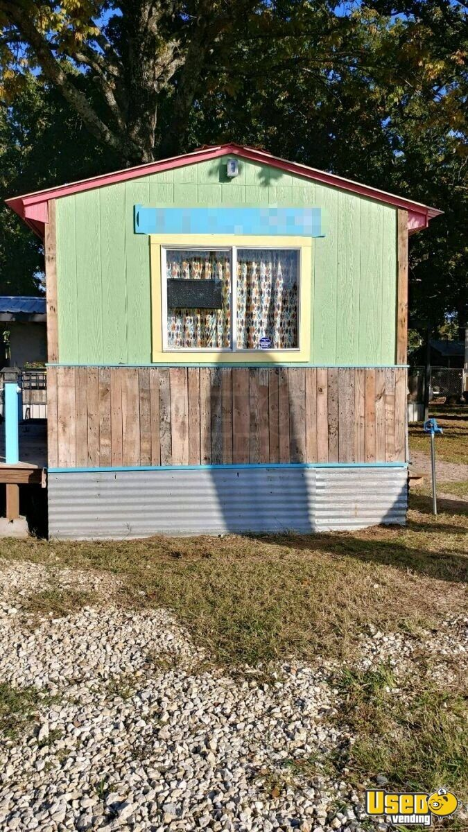 Shaved Ice Concession Trailer Snowball Trailer Air Conditioning Oklahoma for Sale - 2