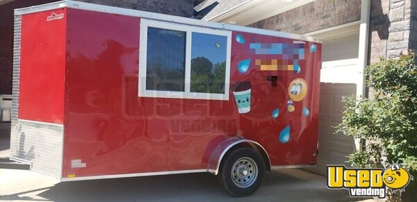 Shaved Ice Concession Trailer Snowball Trailer Arkansas for Sale
