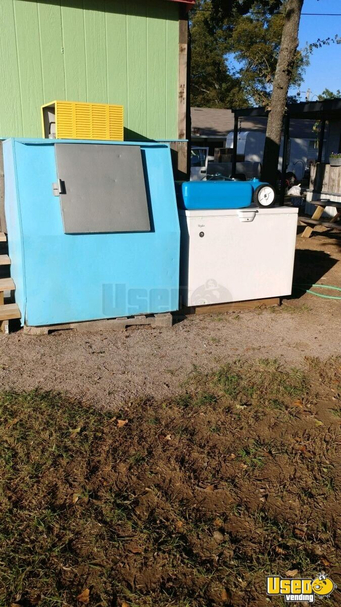 Shaved Ice Concession Trailer Snowball Trailer Awning Oklahoma for Sale - 4