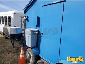 Shaved Ice Concession Trailer Snowball Trailer Concession Window Kansas Gas Engine for Sale