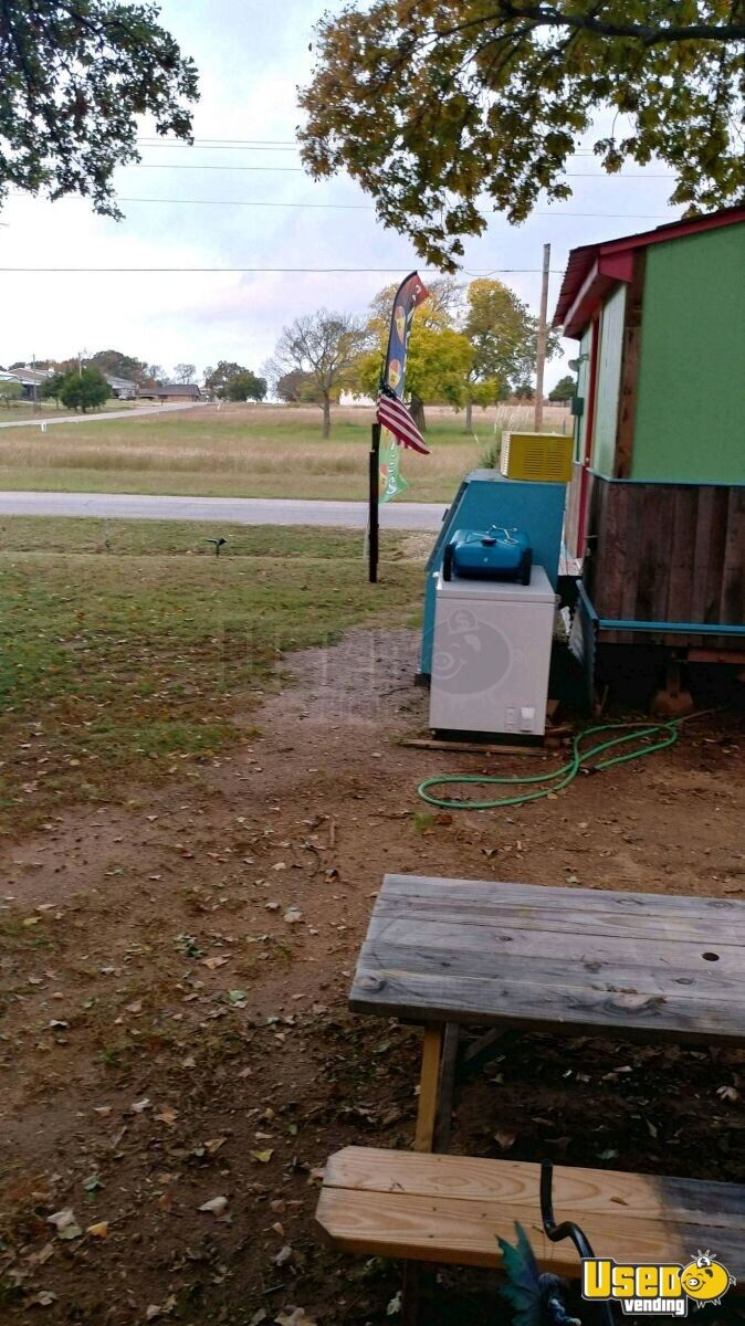 Shaved Ice Concession Trailer Snowball Trailer Deep Freezer Oklahoma for Sale - 5