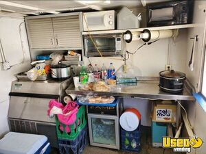 Shaved Ice Concession Trailer Snowball Trailer Spare Tire Kansas Gas Engine for Sale